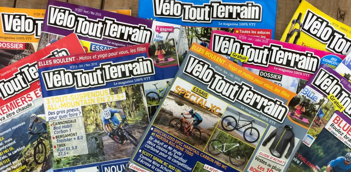 Velo Tout Terrain Magazine