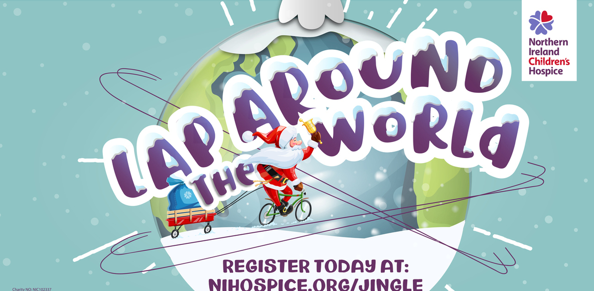 Northern Ireland Children' Hospice Lap around the World